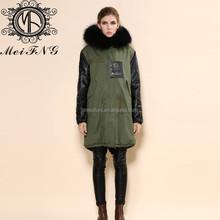 cheap fur vest fashion faux fur long lady vest /ladies faux fur vests
