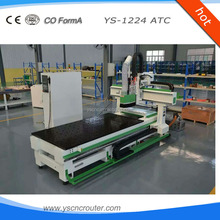 vmc machine ys china big factory hot sale and low cost atc cnc router automatic tool change 1530