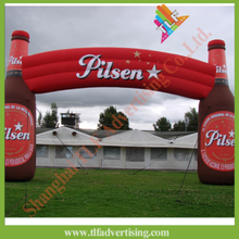 Outdoor Inflatable event bottle arch for sales