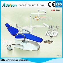 dental materials price/Best price 3D ergonomic design mobile used Dental unit with Luxury halogen cold light lamp