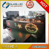 P20 96*16 tri-color led moving sign
