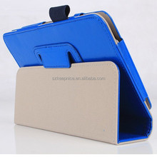 Good Quality Foldable Folio Stand Leather Tablet Case for Samsung Galaxy Tab4 T230