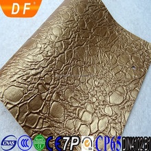 "54/55"" Width pvc leather Material crocodile skin price"