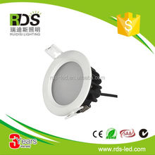 SAA CE ROHS certification 12W led downlight dimmable,ip44 led downlight,led recessed downlight
