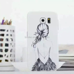 Transparent and thin TPU cheap mobile phone case for Samsung Galaxy S6