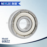 China supplier Cixi Negie factory made high speed precision made in china stainless steel 608z bearing 3 wheel motorcycle used