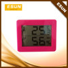 2015 most popular high accuracy digital home indoor thermometer and hygrometer weather station /Weather forecast clock