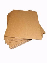 Middle Est Brown Corrugated Paper / Fluted Paper Roll Pharmaceutical Factory