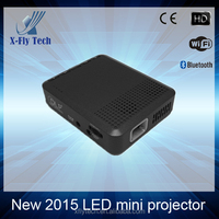 DLP Wireless led mini portable Projector wifi + POWER BANK +touch screen Lamp life >10,000 hours for outdoor use
