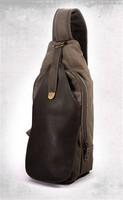 Long Thin Canvas Bag Professional Boys Small Wallet Backpack Purses