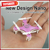 4CM Cheerson 4CH UFO 3D Rotating Micro 2.4G 6-Axis RC Mini Quadcopter CX-10 kid toy flying disk