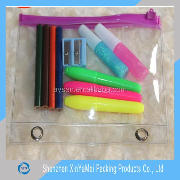 wholesale practical pvc pencil case