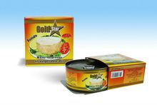 Canned tuna chunks solids
