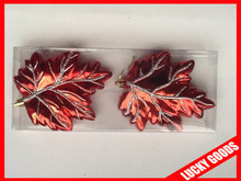 hot sale red make it christmas flat ornaments wholesale