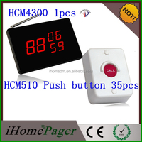 Hoist elevator used small size display receiver