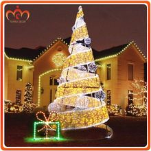 Factory gifts led trees at new year