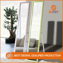 latest fashion modern floor stand dressing mirror