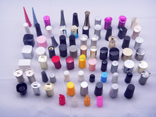PE Screw cap for nail polish bottle in different shaps
