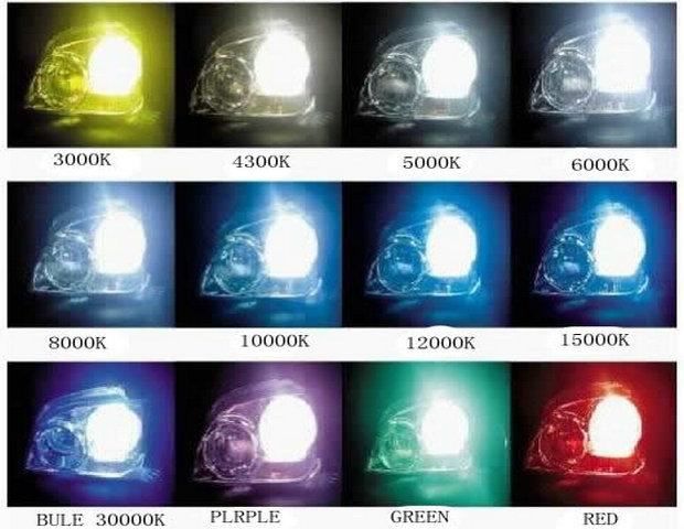 Super Bright 30000k Hid Xenon Lamp 35w H1 H3 H4 H7 H11