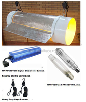 """Hydroponic automatic system 1000w 8"""" Hydroponic agriculture Hydroponic grow light reflectors"""
