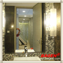BAGEN modern mirror frame, framed mirror with defogger (ISO9001,CE, UL, ROHS, SAA, PSE,TUV )