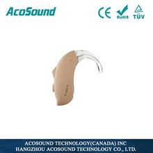 China alibaba AcoSound Acomate 420 BTE powerful hearing aid supplier