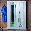 Monalisa rectangle portable with glass elegant Steam Shower bath cabin