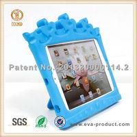 Crown design stand EVA heavy duty tablet case for iPad mini