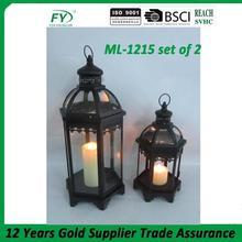 Wide varieties cheap classic japanese garden lantern ML-1215 set of 2