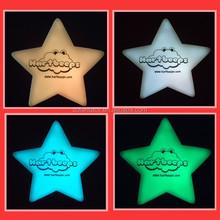 colour changing led flashing star shape mood light
