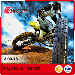 High Capability China Advance Tyre For Motorcycle 3.00-18