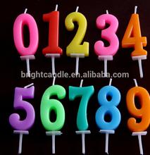 de lujo de torta de cumpleaños vela
