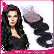 2015 new products 4*4 free parting lace closure