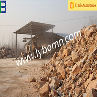 Uniform density various sizes refractory matter/top grade fireproof material