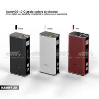 kamry 30w v1 e cig mini box mod, kamry30w vapor pen with inside 18650 battery