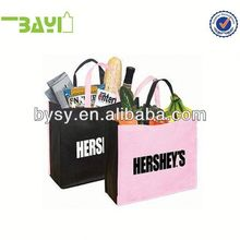 large non woven shopping bag for suits
