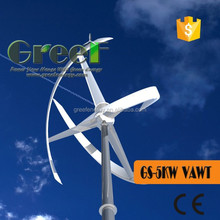 POP! high efficicence energy permanent magnet generator 5kw for home, low price vertical wind power generator