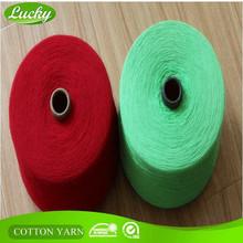 Fast delivery A grade tc/cvc blended cotton hammock yarn
