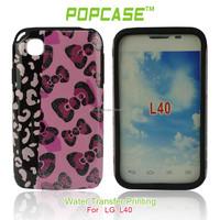pc&silicone for lg optimus l40 case