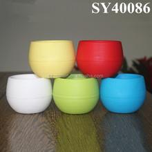 customized color plastic flower pot