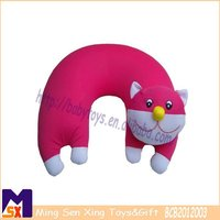 cute baby neck pillows pink baby head support cushions cat animal shaped neck cushions