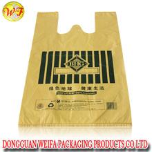 Yellow T shirt Inside Handel/Die Cut Handle, Shopping bag