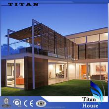 Light Steel Prefab Summer Glass Houses for NZ in Turn Key