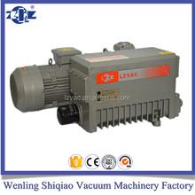 Single stage rotary vane battery operated vacuum pump