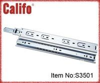 35mm width full extension soft closed slide / ball bearing slide for drawer