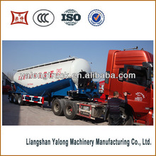 Best-selling in Southeast Asia 30tons bulk cement tank delivery trailer for sale,dry bulk cement powder truck trailer