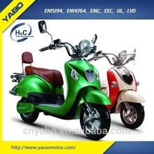 Hangzhou Yabo Technology EEC Electric Scooters 1500 watts Li-ion battery wholesale 2 wheel chinese motorcycle sale