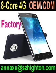 "Cheap 5-5.7"" IPS Octa core 4G android phone with OEM ODM design"