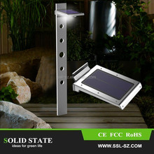 Outdoor waterproof solar lighting wall garden street light