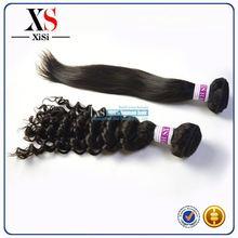 100% unprocessed human hair extensions indian remy human hair indian hair bun